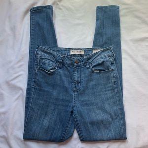 Bullhead Denim High Rise Skinniest Jeans Size 25